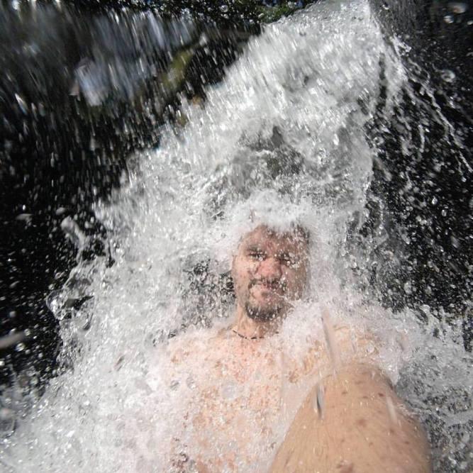 Waterfall at Parque Nacional Serra dos Órgãos