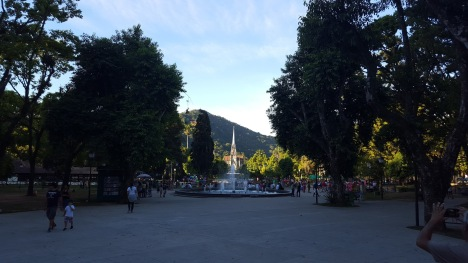 Main square Petrópolis
