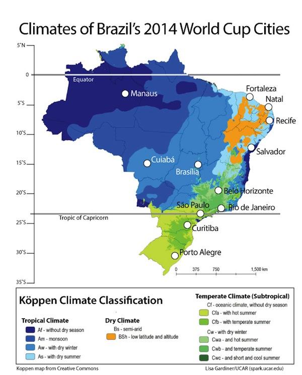 brazil-climate-map